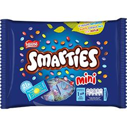 Smarties Mini bonbons chocolat au lait dragéifiés
