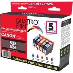 Pack cartouches d'encre compatibles Canon PGI-525/CL...