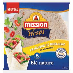 Wraps blé nature