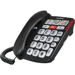 Téléphone Safy Senior noir