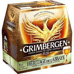 Bière de Gruyt intense & épicée