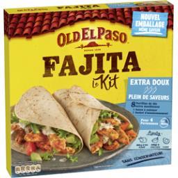 Old El Paso Kit Fajitas sans piment extra doux