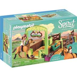 Playmobil® Spirit - Lucky et Spirit avec box