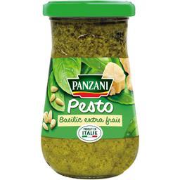 Sauce pesto au basilic frais