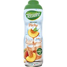 Sirop de fruits pêche