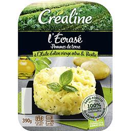 Créaline L'Ecrasé de pommes de terre huile d'olive et basilic