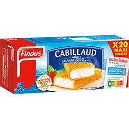 Findus Cabillaud 100% filet pané