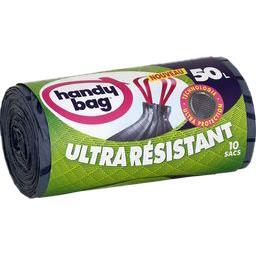 Sacs poubelle Ultra Résistant 50 l
