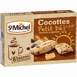 Croc' Cocottes chocolat et graines