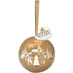 Ferrero Rocher - Bouchées chocolat lait noisettes la boule de 3 pièces - 37 g