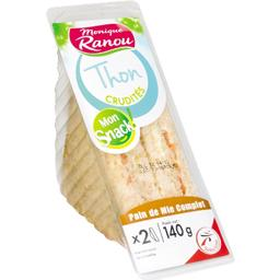Mon Snack ! - Sandwich thon crudités