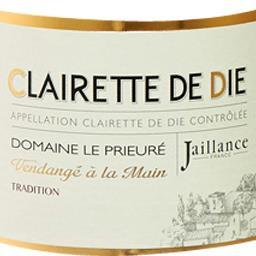 Clairette de die tradition, vin mousseux