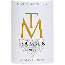 Canon-Fronsac  2012, vin rouge