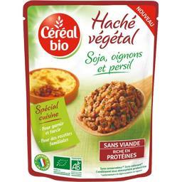 Haché végétal soja, oignons et persil BIO