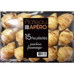 Plateau Apéro feuilletés jambon fromage