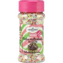 Créations - Perles multicolores en sucres