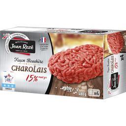 Steak haché façon bouchère Charolais 15% MG