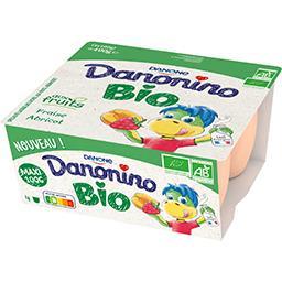 Danone Danone Danonino Bio - Spécialité laitière fraise abricot BI... les 4 pots de 100 g