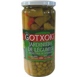 Gotxoki Jardinière de légumes le bocal de 400 g net égoutté