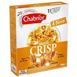 Céréales Muesli Crisp aux 4 noix