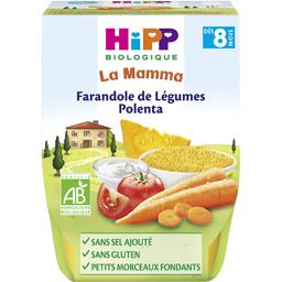 La Mamma - Farandole de légumes polenta BIO, dès 8 mois