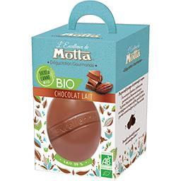 Motta Œuf Dégustation Gourmande chocolat lait BIO la boite de 125 g