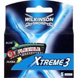 Xtreme 3 - Lames de rasoir Xtreme 3 flexible, aloé e...