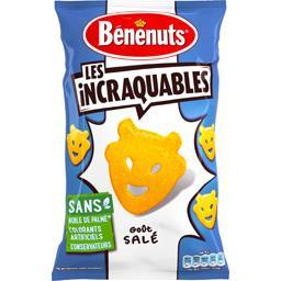 Les Incraquables - Biscuits apéritif goût salé