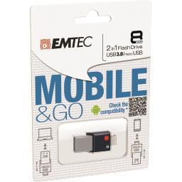 Clé USB 3.0 MobileGo OTG T200 8GB