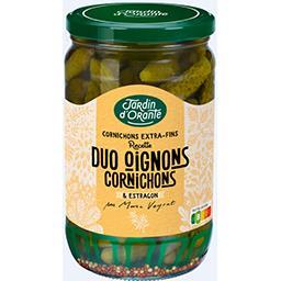 Duo oignons cornichons
