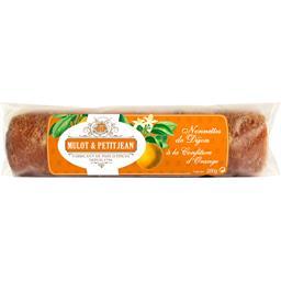 Petitjean Mulot  Nonnettes de Dijon fourrées à la confiture d'orange