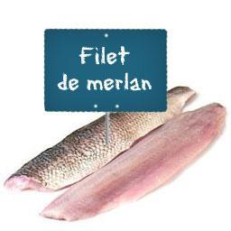 Filet de MERLAN SANS PEAU La portion à la demande à ...
