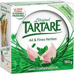 Fromage à tartiner L'Original ail et fines herbes