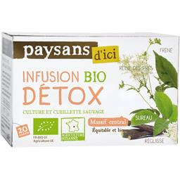 Paysan d'Ici Infusion Detox Massif Central Bio 30 g -