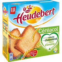 Heudebert - Biscotte Céréacol aux fibres d'avoine