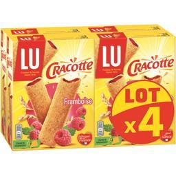 Cracotte - Bâtonnets de céréales framboise