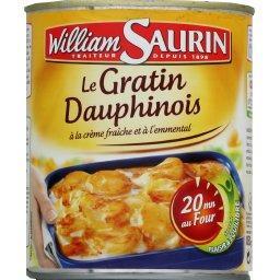 Le Gratin Dauphinois à la crème fraîche et à l'emmen...