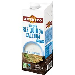 Boisson riz quinoa calcium BIO & équitable
