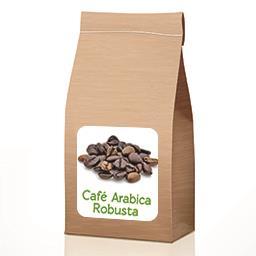 Café arabica Robusta BIO en VRAC