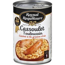 Cassoulet Toulousain cuisiné à la graisse d'oie