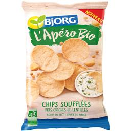 L'Apéro BIO - Chips soufflées pois chiches et lentilles BIO