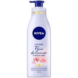 Lait huile fleur de cerisier & huile de jojoba