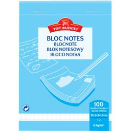 Bloc-notes 105x148 mm petits carreaux