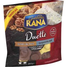 Pâtes fraîches Duetto éclats de noix & Gorgonzola AOP