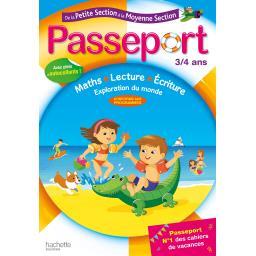 Passeport de la petite à la moyenne section - 3/4 ans