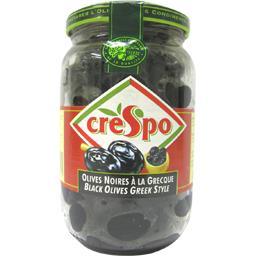 Olives noires entières à la grecque