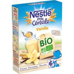 P'tite Céréale - Céréales vanille BIO, dès 6 mois