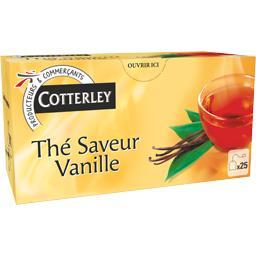 Thé vanille