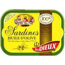 Les Dieux Sardines huile d'olive