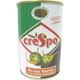 Olives vertes Manzanilla à la farce d'anchois